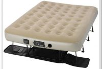 Serta Raised Air Bed With Neverflat Ac Pump Queen