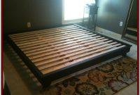Simple King Platform Bed Frame Plans