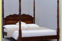 Solid Wood Queen Platform Bed Frame