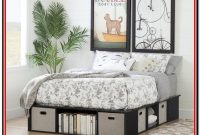 South Shore Flexible Platform Bed With Storage And Baskets