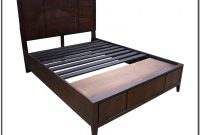 Storage Bed Frame Queen No Headboard