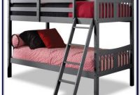 Storkcraft Caribou Twin Over Twin Solid Hardwood Bunk Bed White