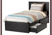 Twin Bed Frame And Headboard Set