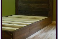 Twin Bed Frame Wood Diy