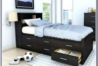 Twin Bed With Drawers Underneath Big Lots