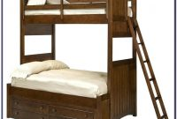Twin Over Full Wooden Bunk Beds With Stairs