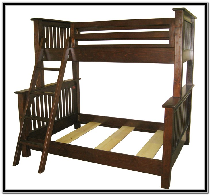Twin Over Queen Bunk Bed Plans Pdf