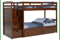 Twin Over Twin Bunk Beds With Stairs And Drawers