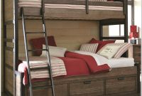 Twin Over Twin Bunk Beds With Stairs And Storage
