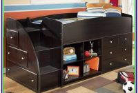 Twin Size Bed With Storage Underneath
