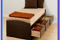 Twin Xl Mate's Platform Storage Bed With 3 Drawers