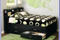 Upholstered Full Size Bed Frame With Storage