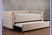 Upholstered Full Size Bed With Trundle