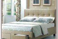 Upholstered King Bed Frame Canada