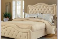 Upholstered King Size Bed Frame