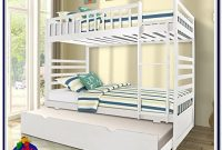 Walker Edison Solid Wood Twin Over Twin Bunk Bed With Optional Trundle