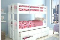 White Twin Bunk Beds With Stairs
