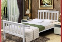 White Wooden Bed Frame King Size Uk