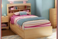 Wood Twin Bed Frame Without Headboard