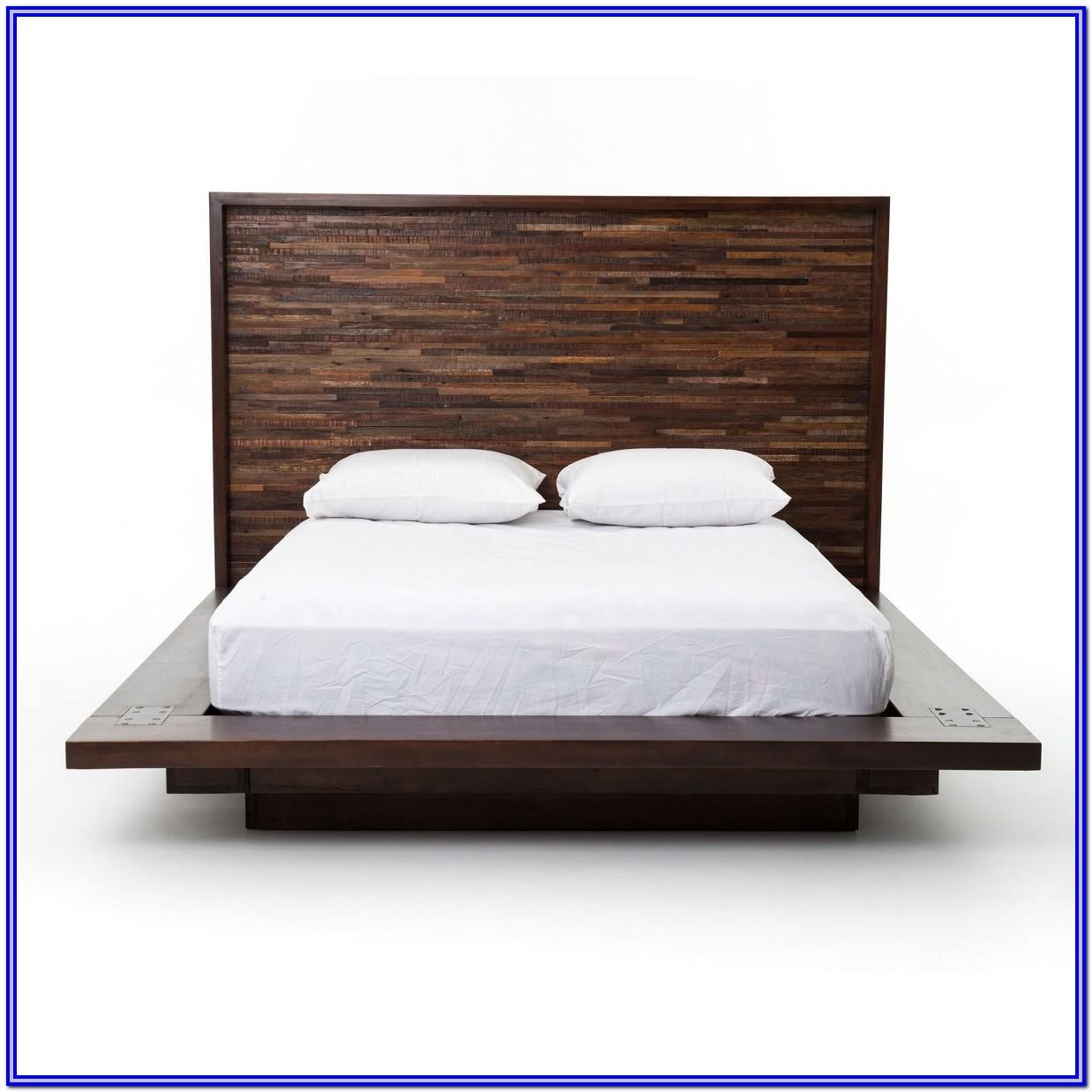 Wooden Platform Bed Frames Queen