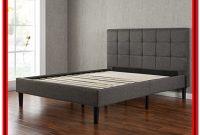 Zinus Omkaram Upholstered King Platform Bed Frame