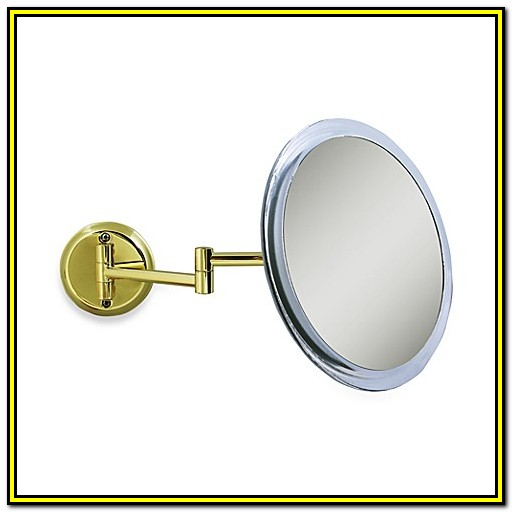 Bed Bath And Beyond Makeup Mirror Wall Mount