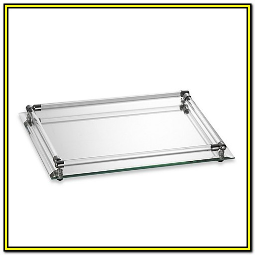 Bed Bath And Beyond Mirrored Vanity Tray