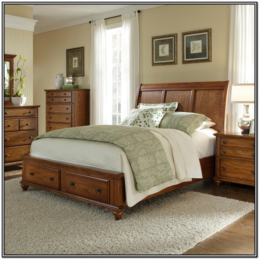 Bed Frame For Head And Footboard