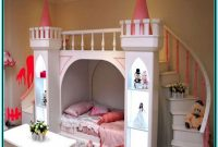Castle Bunk Beds With Slide And Stairs