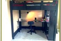 Feltner Twin Low Loft Bed With Desk And Storage