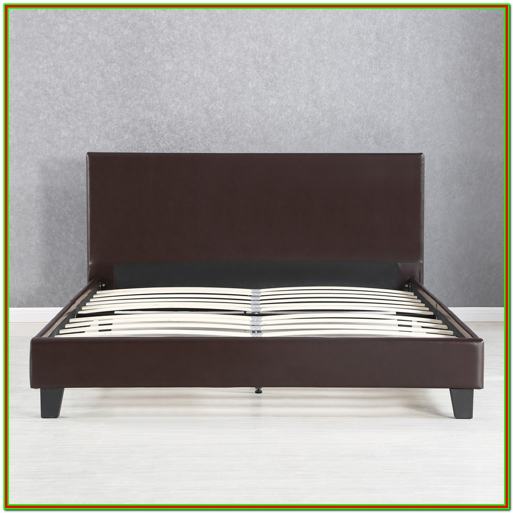 Full Bed Frame With Headboard Wood