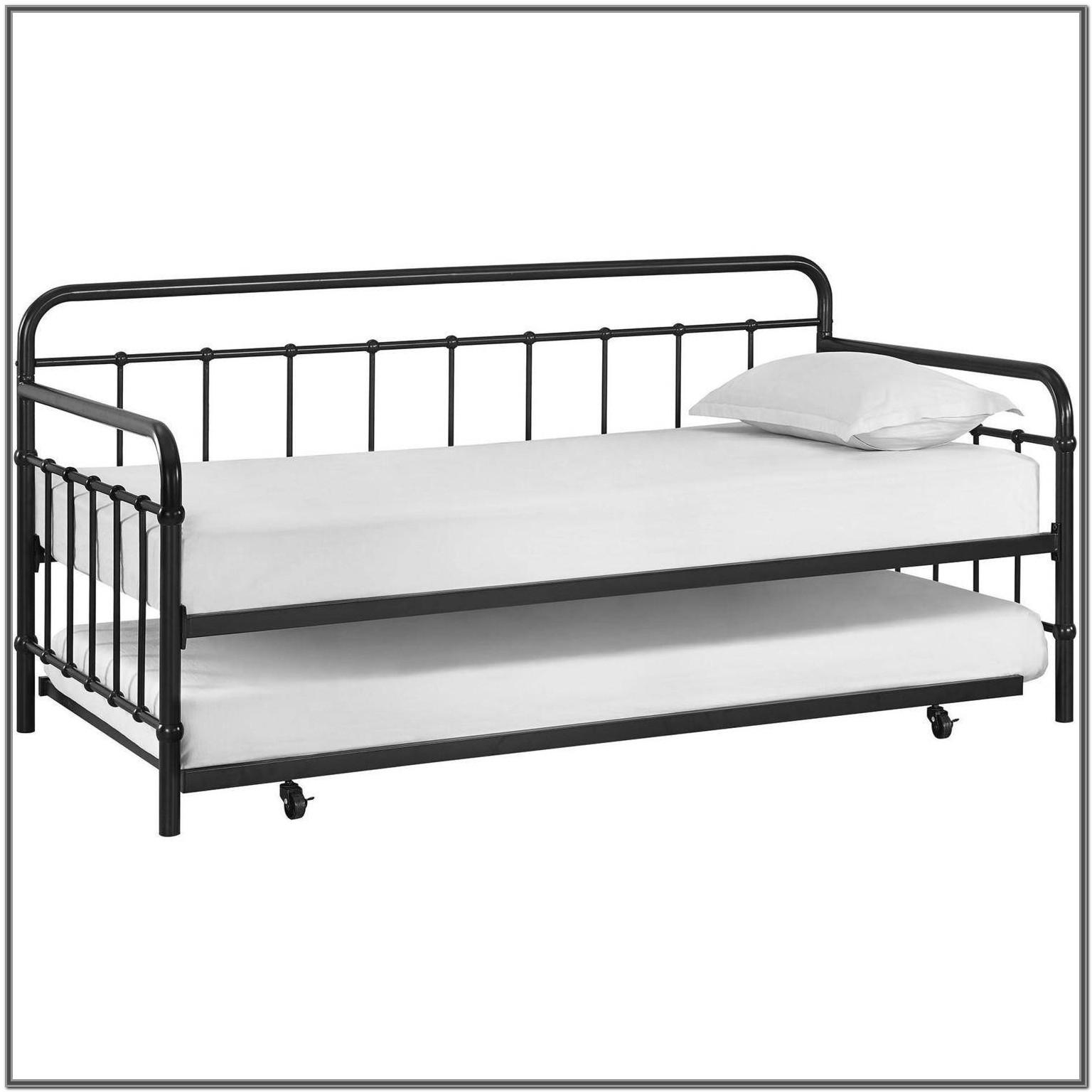 Full Size Pop Up Trundle Bed Frame
