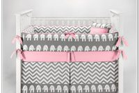 Girl Crib Bedding Sets Pink And Gray