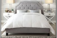 Grey Upholstered King Bedroom Set