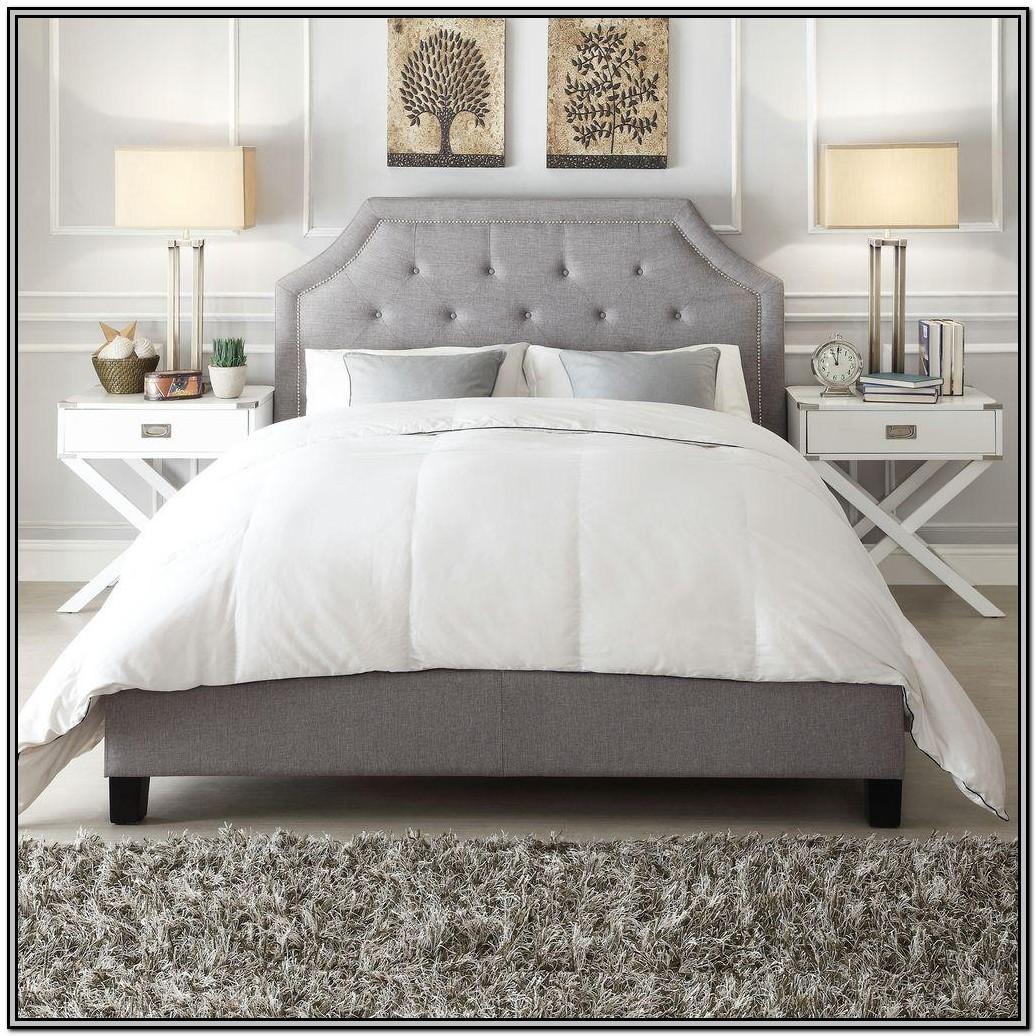Grey Upholstered King Bedroom Set