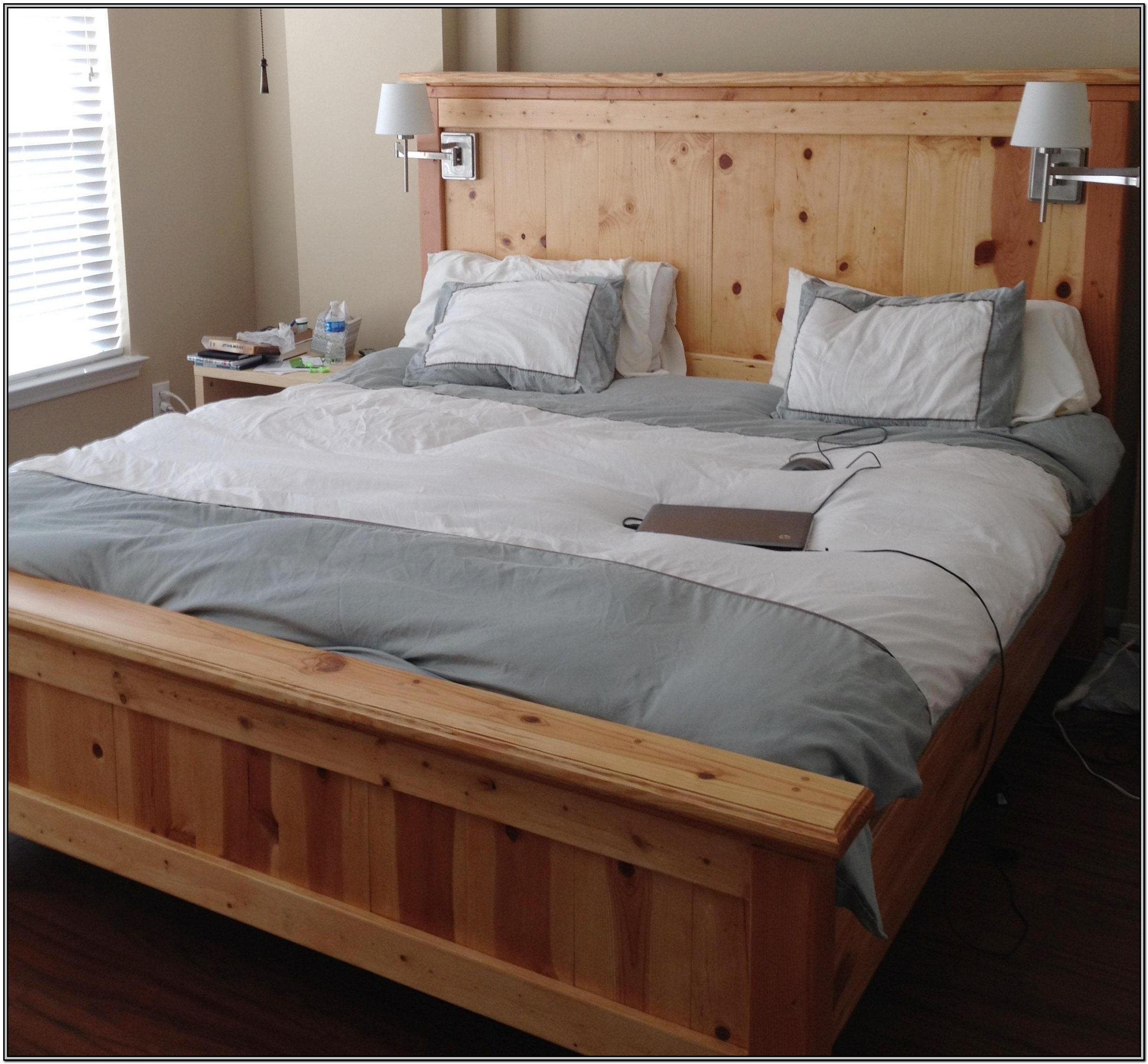 Homemade King Size Bed Frame Plans
