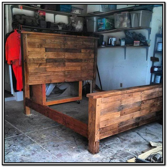 Homemade King Size Bed Frame