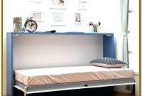 Horizontal Murphy Bed With Desk Kit