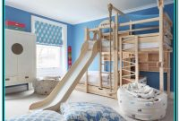 Kids'bunk Bed With Slide And Stairs Singapore