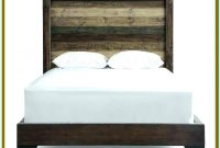 King Platform Bed With Nightstands Attached