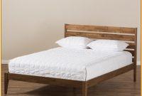 Kyler Mid Century Modern Platform Bed