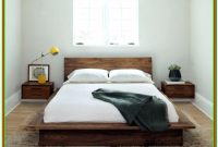 Low Platform Bed With Nightstands Attached