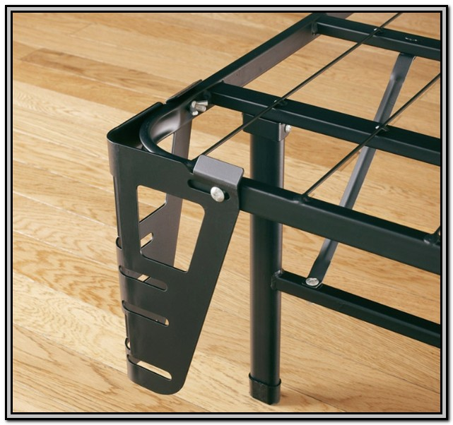 Metal Bed Frame With Headboard Brackets