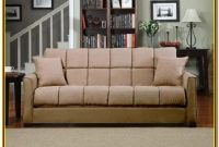 Microfiber Sectional With Pull Out Bed