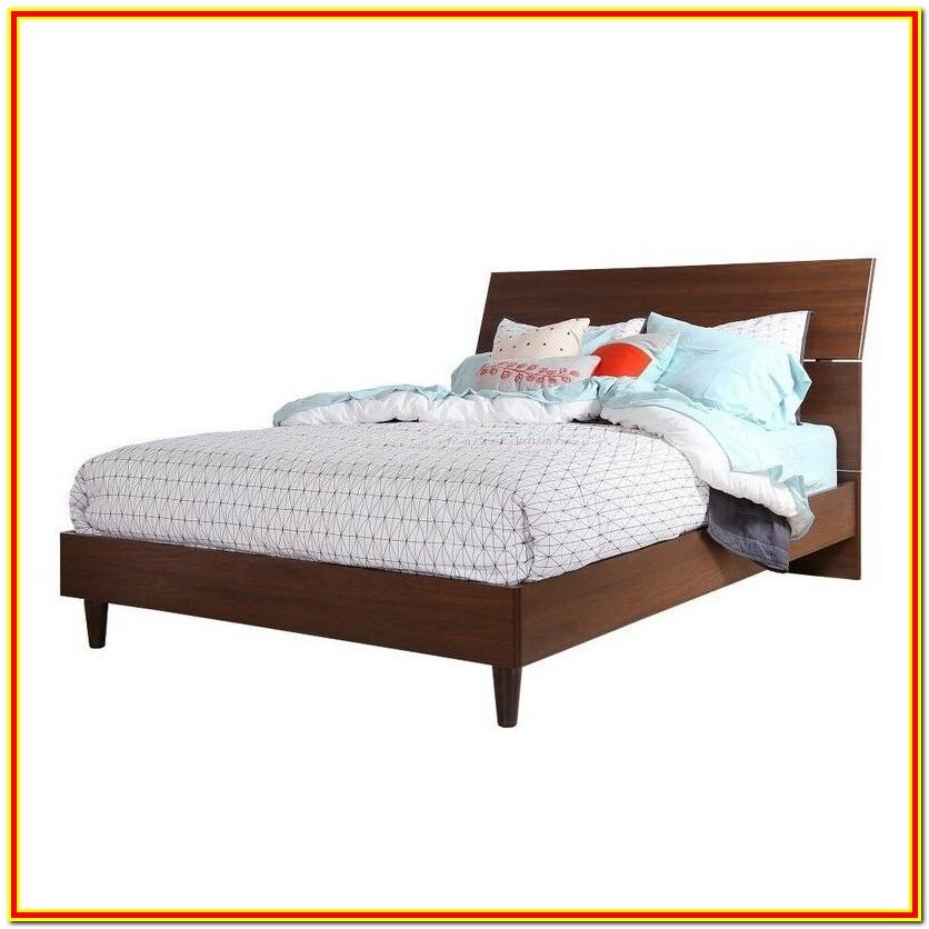 Mid Century Platform Bed Queen