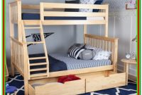 Natural Wood Bunk Beds Twin Over Full