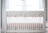 Pink And Gray Bedding For Baby