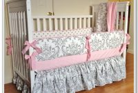 Pink And Gray Nursery Bedding Sets
