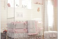 Pink And Grey Nursery Bedding Sets