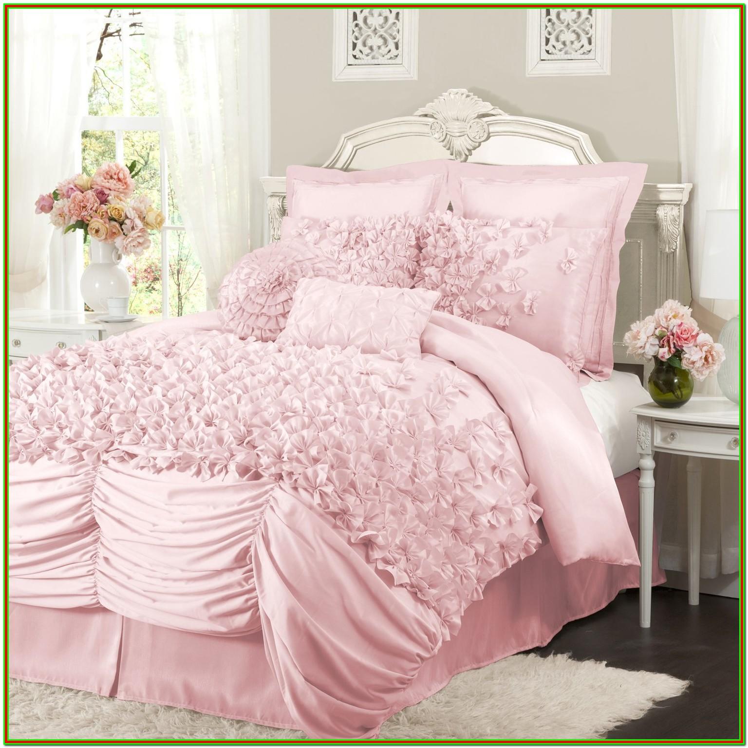 Pink Full Size Bed Set